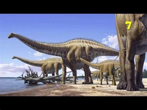 Top 10 Dinosaurios mas largos y grandes que existieron ...