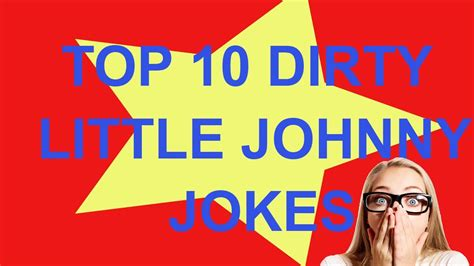 Top 10 Little Johnny Jokes That Will Make You Laugh So ...
