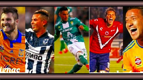 Top 10 Los Mejores Goles De La Liga MX Apertura 2015   YouTube