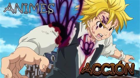 Top 10 Mejores Animes de Acción [Animes Cortos]   YouTube
