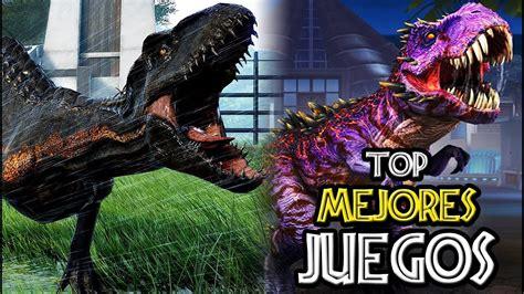 TOP 10: MEJORES JUEGOS DE JURASSIC PARK [Parte 2]   YouTube