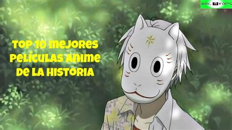 Top 10 Mejores Películas Anime De La Historia   YouTube