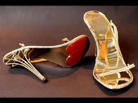 Top 10 Most Expensive Shoes In The World 2018   YouTube