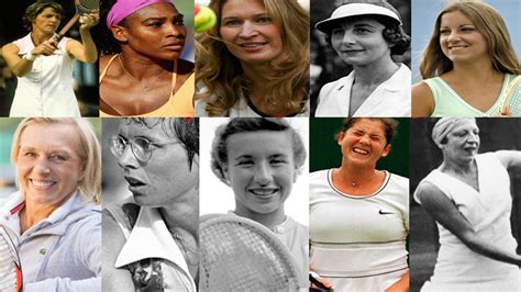top 10 Most Tennis Grand Slam Titles Winners Men and Women