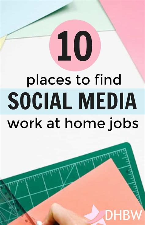Top 10 Places To Find Home Based Social Media Jobs Online