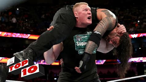 Top 10 Raw moments: WWE Top 10, January 11, 2016   YouTube