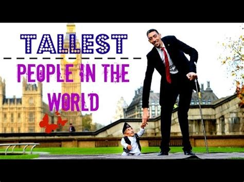 Top 10 Tallest People in the world   YouTube
