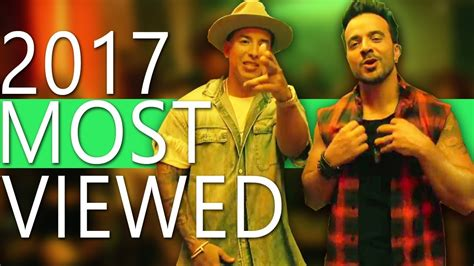 Top 100 Most Viewed Songs Of 2017  So Far    YouTube
