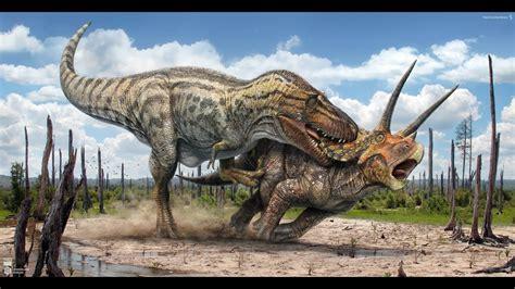 Top 2 CRAZIEST Dinosaur fights   YouTube