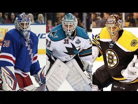 Top 20 Best NHL Goalies  2014 15    YouTube