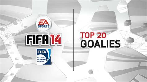 Top 20 Goalkeepers in FIFA 14