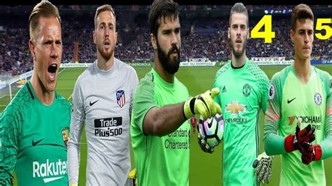 Top 5 Best Goalkeepers In The World!  2018    YouTube