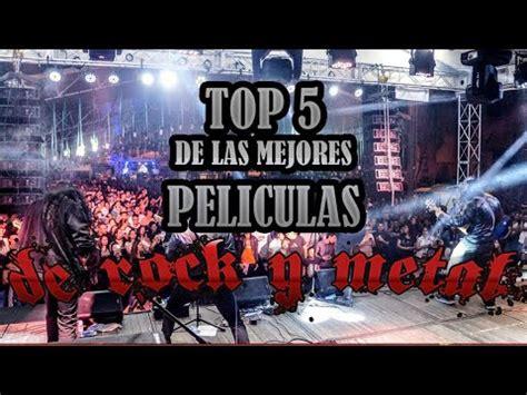 Top 5 de las Mejores Películas de Rock y Metal   YouTube