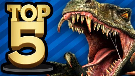 TOP 5 DINOSAUR GAMES   YouTube