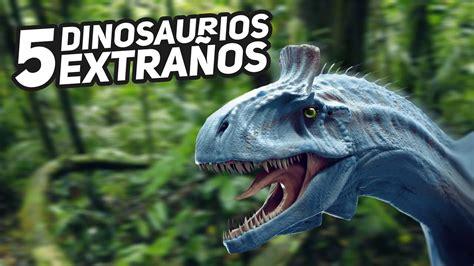 Top 5 ¡Dinosaurios más extraños!   YouTube