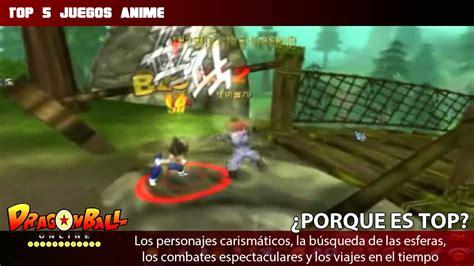 TOP 5: Juegos de Anime Online   Mp3.es   YouTube