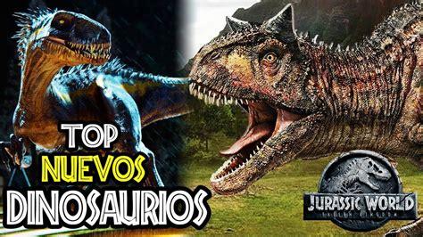 TOP 5: NUEVOS DINOSAURIOS DE JURASSIC WORLD: FALLEN ...