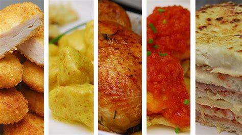 TOP 5 RECETAS FÁCILES CON POLLO   Haz comidas ricas en ...