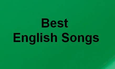 Top 50 Best English Songs Latest List February 2017