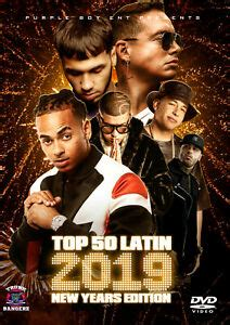TOP 50 LATIN NEW YEARS 2019 MUSIC VIDEOS DVD ANUEL BAD ...