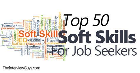 Top 50 Soft Skills for Job Seekers