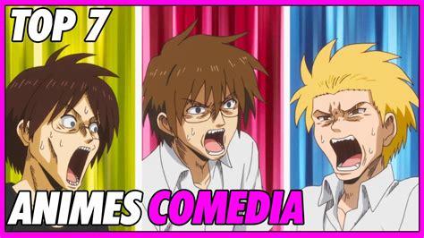 Top 7 Animes De Comedia Recomendados   YouTube