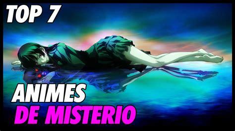 Top 7 Animes De Misterio   Recomendados   YouTube