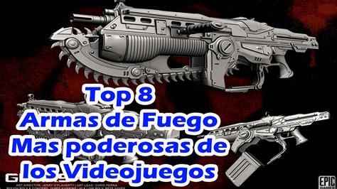 Top 8 Armas Mas Poderosas de los Videojuegos   YouTube