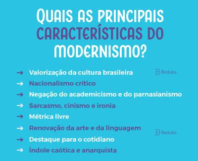 TOP 8 principais autores da PRIMEIRA fase do modernismo ...
