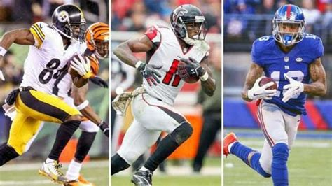 Top Fantasy Football Wide Receivers In 2017