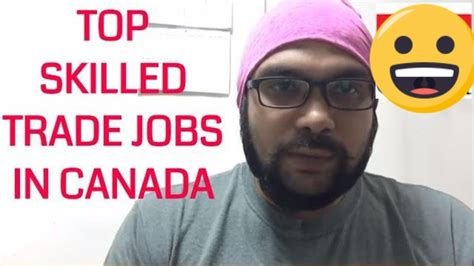 Top In Demand Skilled Trade Jobs in Canada   YouTube