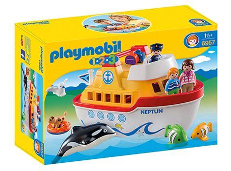 Top! PLAYMOBIL 6957 1 2 3: Mein Schiff zum Mitnehmen für ...