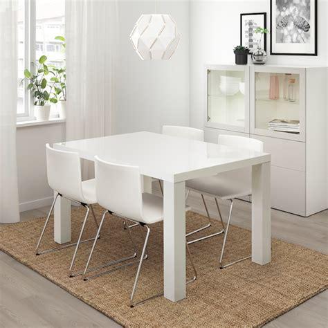 TORESUND Mesa, blanco alto brillo   IKEA