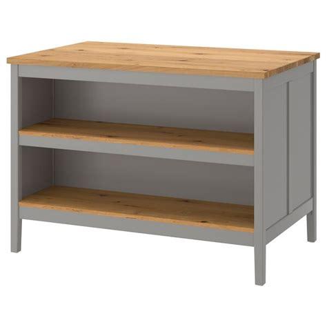 TORNVIKEN 토른비켄 키친 아일랜드   그레이, 참나무   IKEA