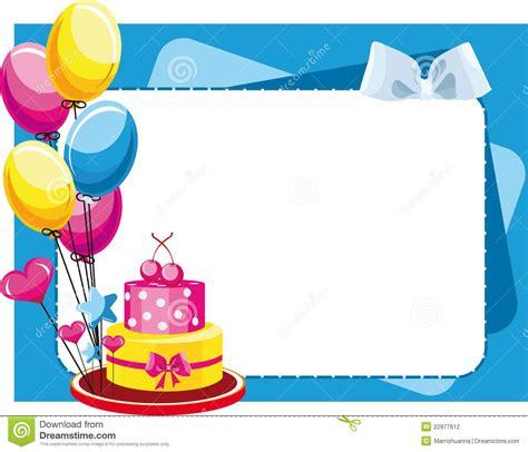 torta congratulatoria con los globos para el cumpleaños y ...