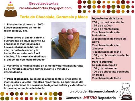 Torta de Chocolate Caramelo y Moca   Receta