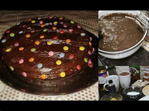 Torta de chocolate fácil /OENELLE   YouTube