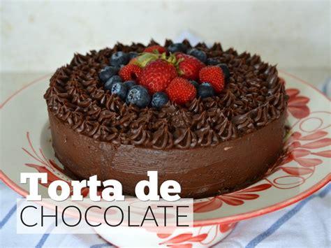 Torta de chocolate saludable, disfruta sin remordimientos ...