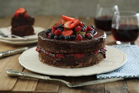 Torta de chocolate y frambuesa   Jumbo A la Carta