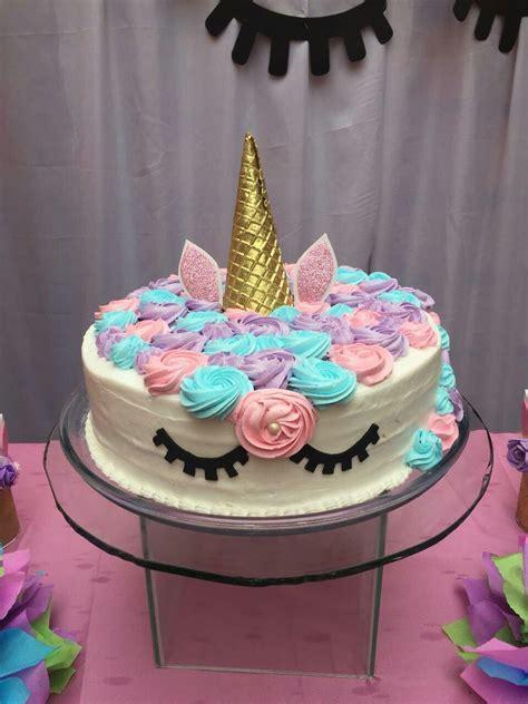 Torta de unicornio  con imágenes    Pastel de cumpleaños ...