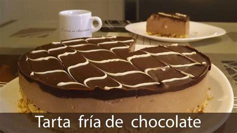 Torta Fría De Chocolate y Galletas Maria, Sin Horno Receta ...