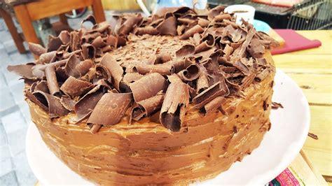 Torta suiza de chocolate   YouTube