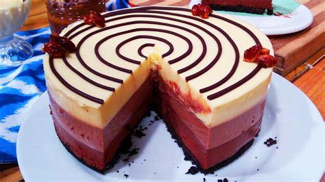 Torta tres chocolates   Receta deliciosa