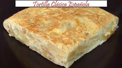 Tortilla Clásica Española con Cebolla | Receta de Cocina ...