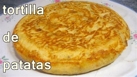 TORTILLA DE PATATAS JUGOSA   recetas de cocina faciles ...