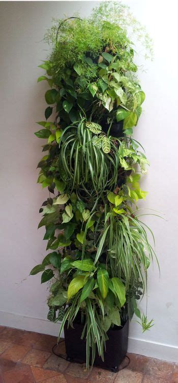 Totem végétal, 419 €, www.greenjee.fr   Jardines, Jardines ...