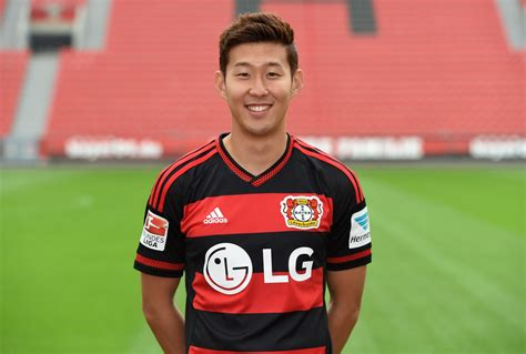 Tottenham complete signing of Heung Min Son from Bayer ...