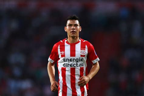 Tottenham Join Inter In Race To Sign PSV s Hirving Lozano