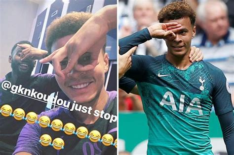 Tottenham star Dele Alli is back with yet another ...