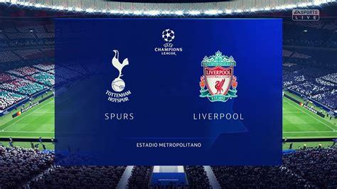 Tottenham vs Liverpool   UEFA Champions League Final 2019 ...